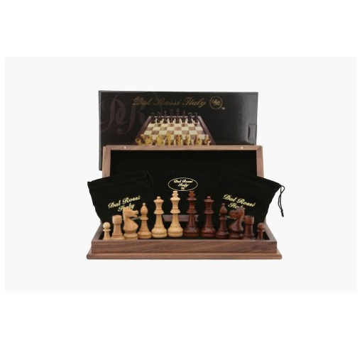 Dal Rossi 45 cm folding walnut Chess