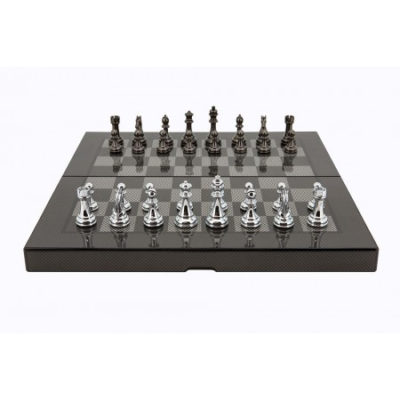 Dal Rossi Carbon Fiber Folding Chess