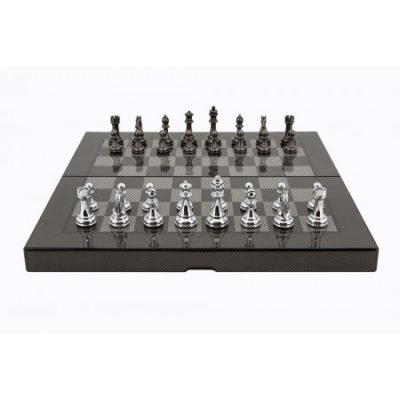 Dal Rossi Carbon Fiber Folding Chess