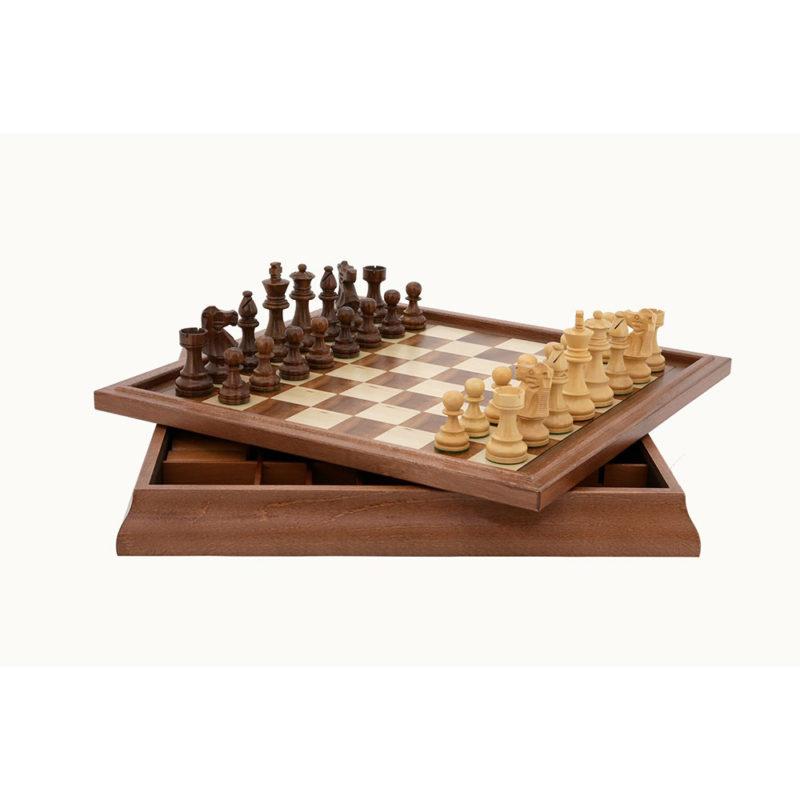 Dal Rossi 45 cm Chess Checkers Backgammon