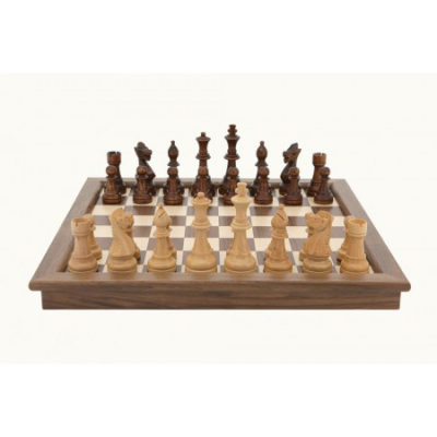 Dal Rossi 45 cm folding walnut Chess
