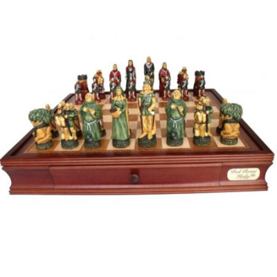 Dal Rossi Robin Hood Chess Set L2032DR