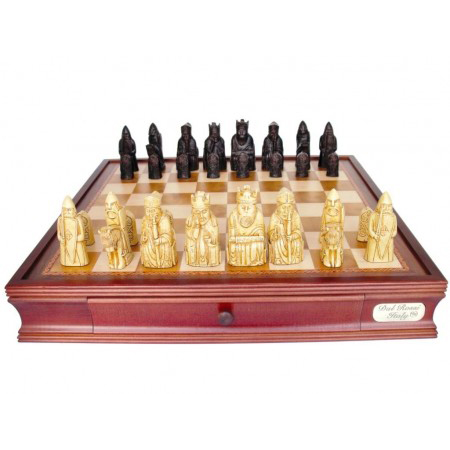Dal Rossi Isle of Lewis Chess Set