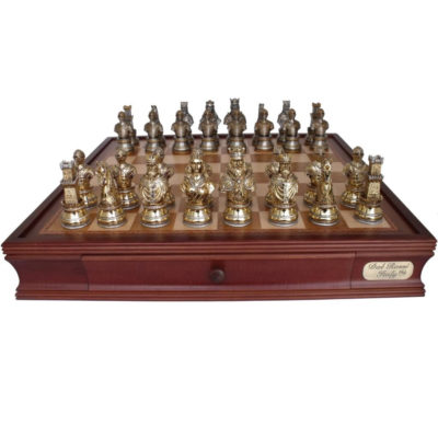 L2028DR Dal Rossi 50 cm Medieval Warriors Chess