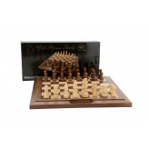 Dal Rossi 40 cm Chess Walnut Folding Handle