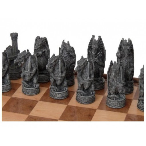 Dal Rossi Resin Dragon Chess