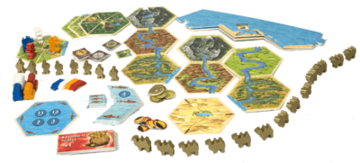 Settlers of Catan: Traders & Barbarians Expansion