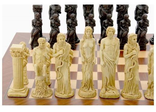 Dal Rossi Gods Of Mythology Chess